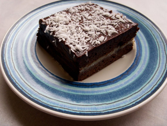 Sweet Coconut Brownies