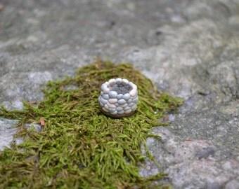 Stone wishing well