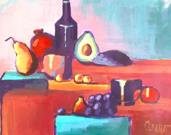 Fruit Painting • Abstract Painting • Original Art • Acrylic Paintings • Daily Painters • Daily Painting • Organics
