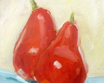 Oil Paintings • Original Art • Oil Painting • Daily Painter • Daily Painting • Pear Painting