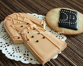 Cookies-Edible Burberry Cookies-Trench Coat Cookies-Fashion Cookies-Bridesmaid Gift