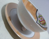 Lusterware Bowl with Saucer