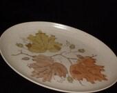 Metlox Poppytrail Woodland Gold Platter
