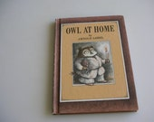 Owl at Home 1975 EXCELLENT Condition HARDCover Book from The Back Part of the Basement