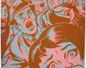 Vintage Comic Book Pop Art Painting