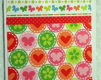 Sweet Hearts and Flowers Card 20120196