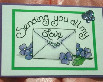Sending You All My Love Mother's Day Card 20120240