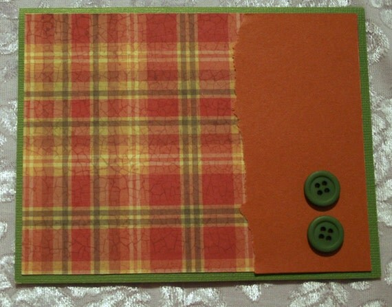 Plaid Card for Any Occasion  20120327