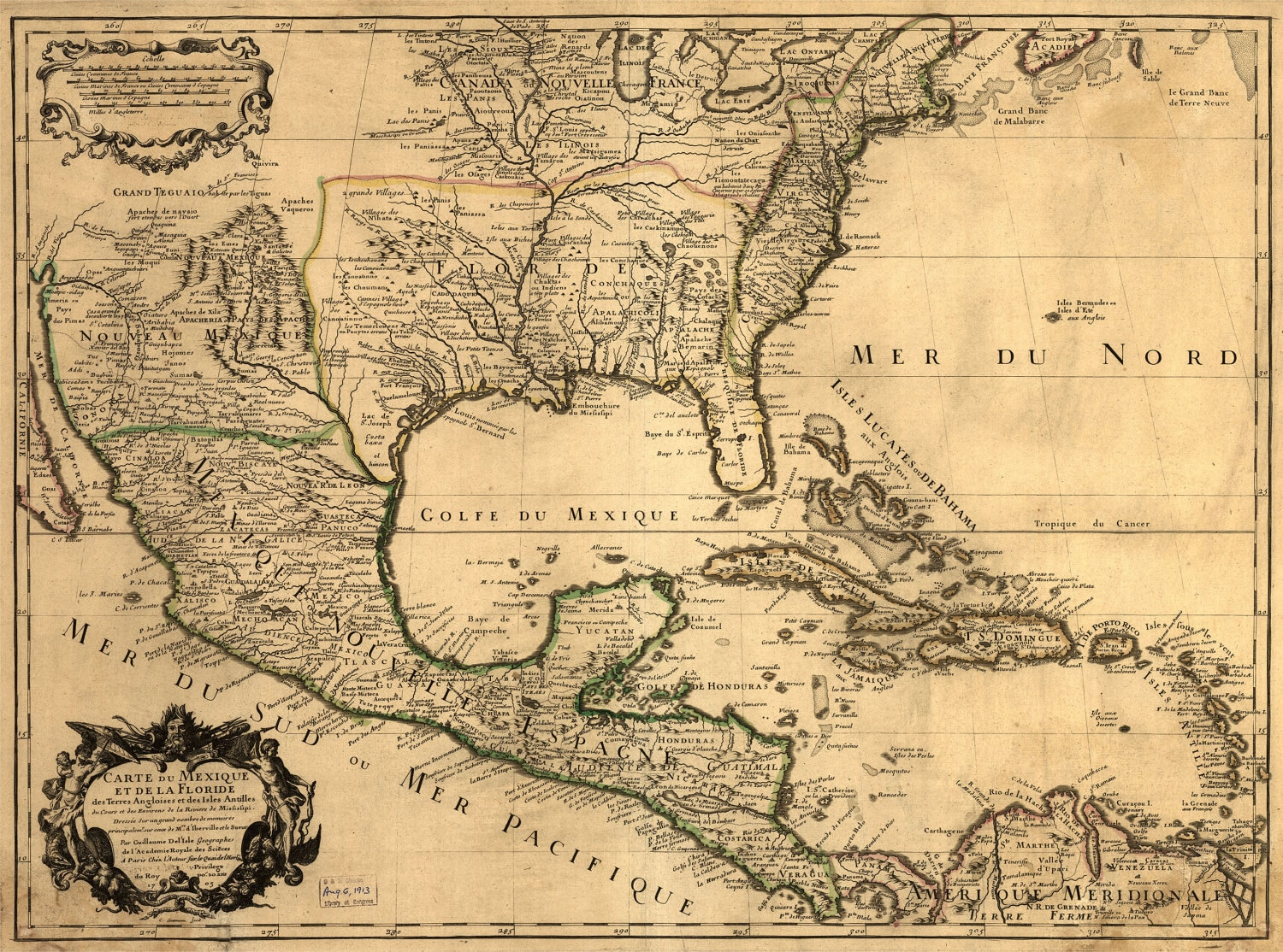 US MAP Nice Map Old America Mexico Gulf Historic - Historic us maps