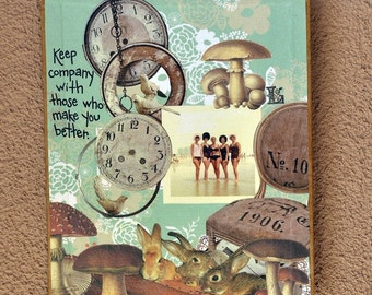 Keep Company Art Board
