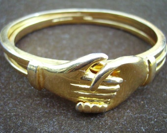 Vintage LES BERNARD Friendship Bracelet, 1972 Rare! Sz Small