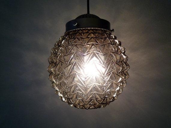 Raven's Glass - Diamond Cut Glass Globe Pendant