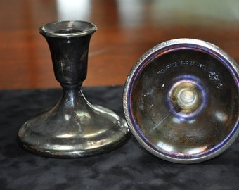 International Silver CO candle holders