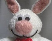 Rabbit  Tea Cosy - KNITTING PATTERN -  pdf file by automatic download