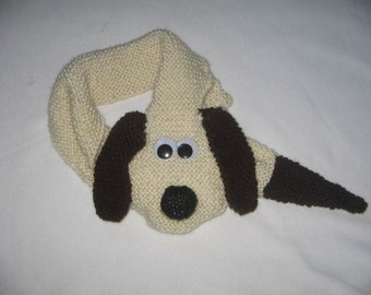Dog Scarf  - KNITTING PATTERN - pdf file by automatic download