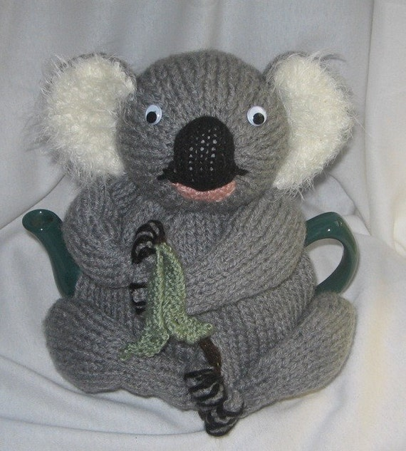 Koala Tea Cosy KNITTING PATTERN pdf file by by RianAnderson