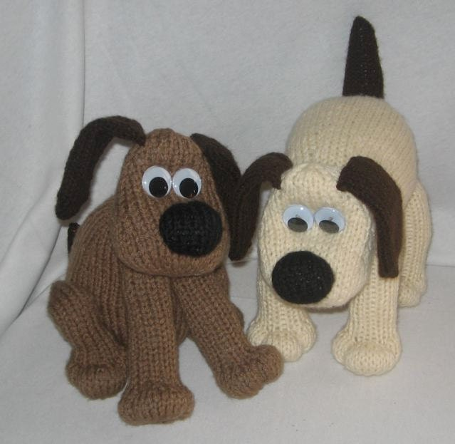 Knitting Patterns For Dogs Toys : Toy Dog KNITTING PATTERN downloadable file by RianAnderson
