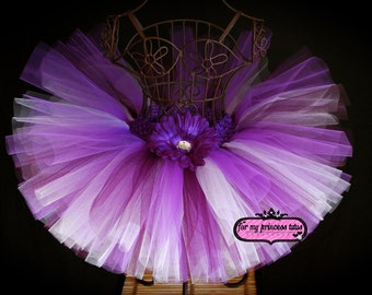 Purple Passion Tutu - newborn tutu, infant tutu, baby tutu, dance tutu, dress up tutu, pageant tutu, 1st birthday tutu, baby shower tutu