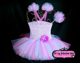 Abby Tutu Dress Set - newborn tutu, infant tutu, toddler tutu, dance tutu, dress up tutu, pageant tutu, flower girl tutu, birthday tutu