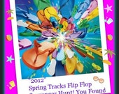 PCF Team Spring Track Flip Flop Scavenger Hunt Starting Point -  April 23rd at 7am EST,  to May 3rd midnight EST