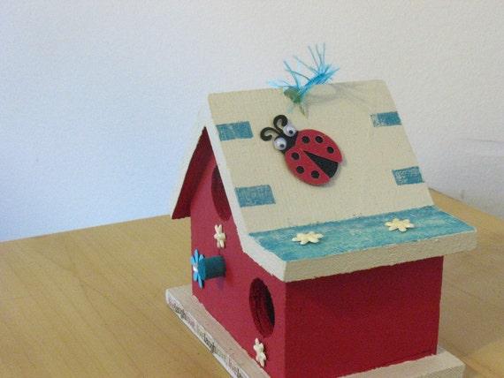 Ladybug Birdhouse
