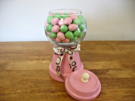 Faux Candy Machine- Bubble Gum Pink Birthdays Weddings Candy Buffets