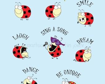 2017 New Year Resolution with Lady Bug To Do List print shirt or mug CUSTOMIZE ME options