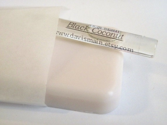 Black Coconut Soap/Perfume Sample Pack