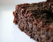 Dark Chocolate Brownies (low-carb, sugar-free, grain-free, gluten-free)