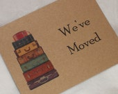Moving Announcement Change of Address Postcards reserved for missilegirl