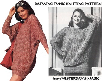 Batwing sweater Etsy