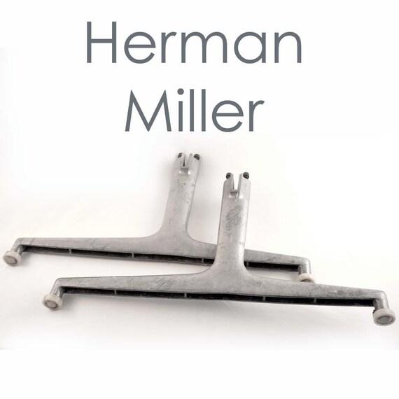 2 Herman Miller Industrial Legs