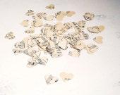 500 paper hearts - wedding decor sheet music confetti upcycled