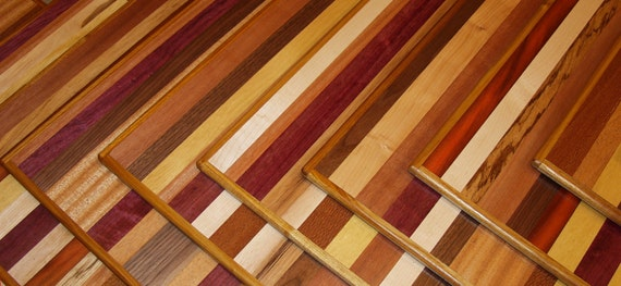 Exotic wood place mats