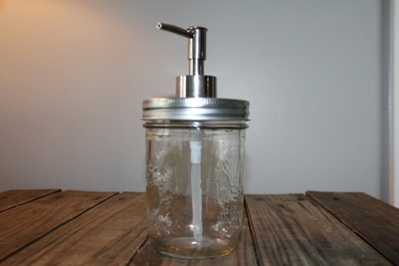 Mason Jar Soap Pump Pint Size