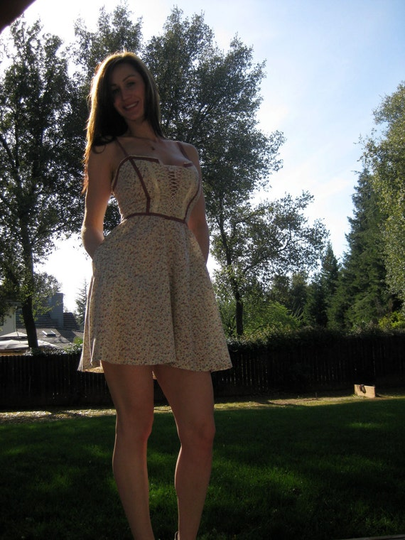 Sale Vintage Gunne Sax Corset Sundress Size 5