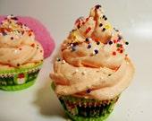 A Dozen Citrus Splash Fancy Cupcake Bubble Bath Mini Cupcake Bubble Fizzy