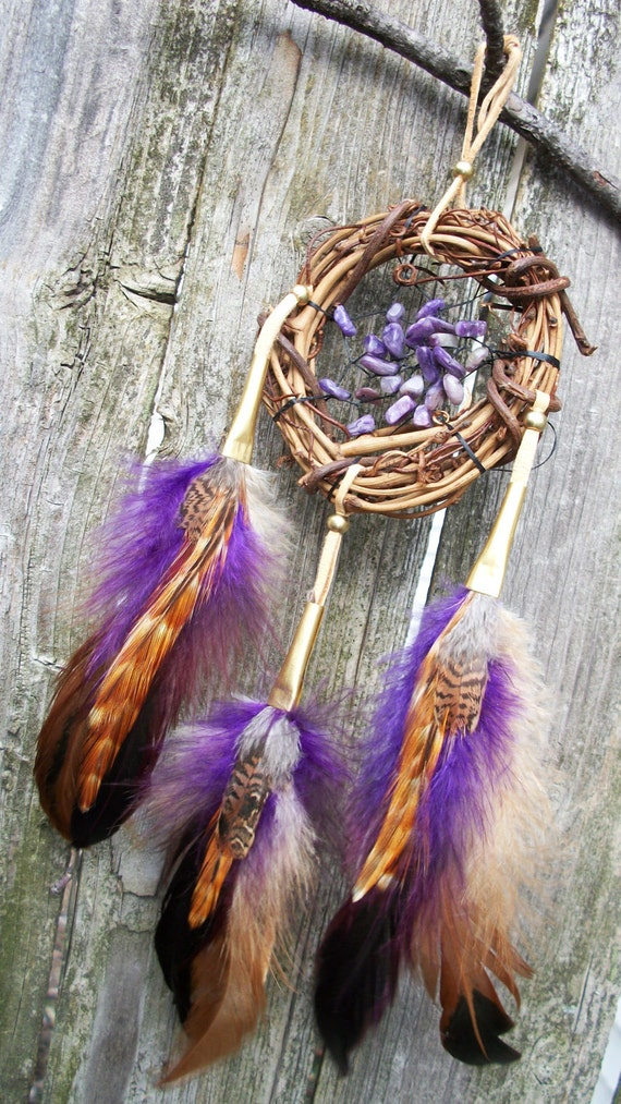 Dream Catcher Small Amethyst