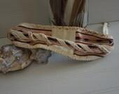 Vintage 1980s Tribal Braided Cinch Belt