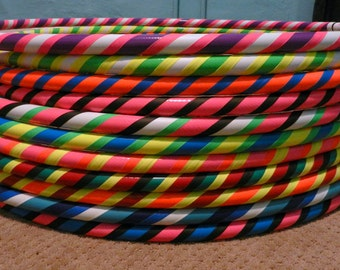Collapsible Hula Hoop Custom Made by HoopBunny - Any Color 100 or 125 PSI PE - Beginner Intermediate Advanced - Exercise Fitness Dance