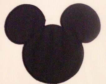 Mouse Head Embroidery Design Machine Applique Plus free Mini