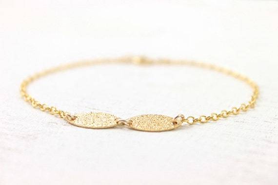 Everyday Chic Bracelet - 14k gold filled simple modern jewelry