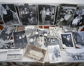 Original Retro Pictures Spanish Vintage Souvenir Black & White Photos 20pcs