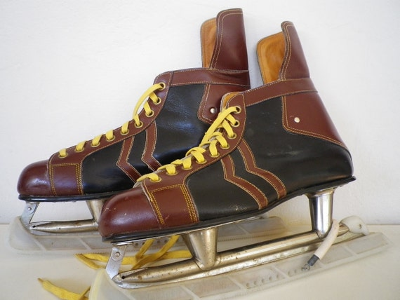 Leather Ice Skate Collectors Vintage Collectable Sport Shoes