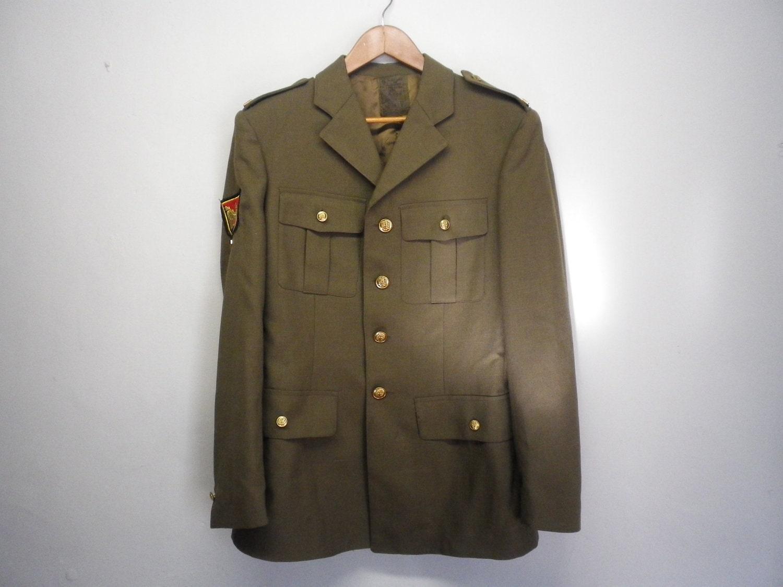 Vintage Military Uniform 117