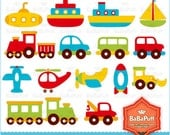 Instant Downloads, Digital Clip Art --- Toys, Personal and Small Commercial Use. BP 0142