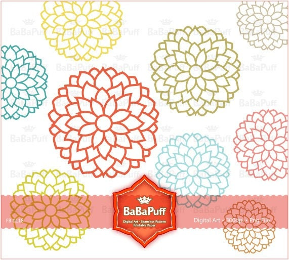 Flower Designs Clip Art