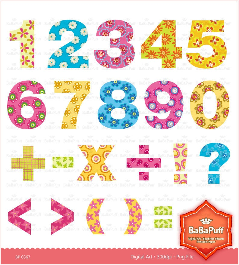 free clipart birthday numbers - photo #6
