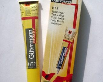 HT2 Gutermann glue for fabric & textiles, fabric glue, textiles glue, bag making glue, purse making glue, purse frame glue, UK SELLER