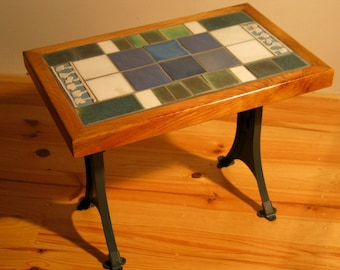 Old Pine Tile Table